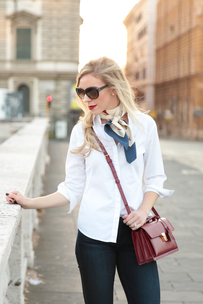 Five Ways to Wear a White Button-Down – Cola Town {Curated}